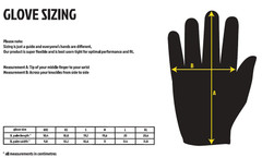 Fist Gloves Sizing Chart