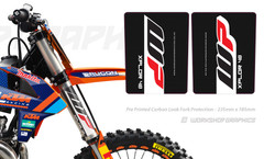 Carbon Fork Wraps Showa, KYB, WP, Procircuit
