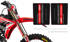 Carbon Fork Wraps