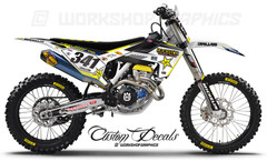 Husqvarna Graphics and Decals