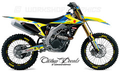 2018 RMZ 450 Graphics Kit