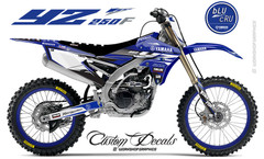 2018 YZ250F BluCru MX Graphics kit