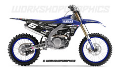 2019 YZF Haste - Graphics Kit