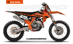 Tone Black KTM - Graphics Kit
