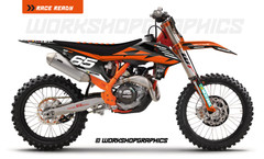 NZ Enduro KTM - Graphics Kit