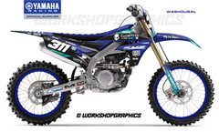 2019 YZF Washougal - Graphics Kit