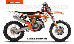 NZ Enduro KTM V2 - Graphics Kit