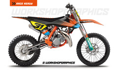 ktm sx85 graphics kit ass