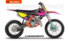 Sx 85 Starburst graphics kit