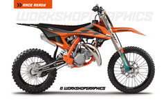 KTM 85 US Race v1 - Graphics Kit
