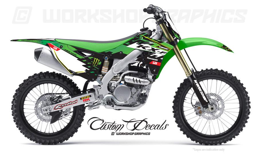 KX250F MX Graphics