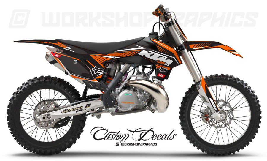 KTM 125-450 MX Graphics