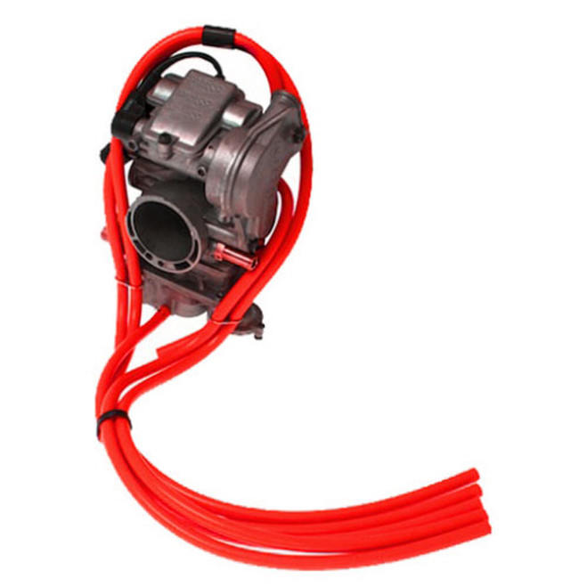 4T - Free Flow Carb Vent Kit Red