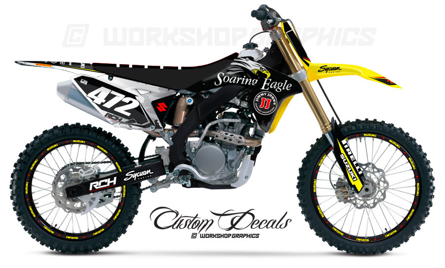 RMZ 250 MX Graphics