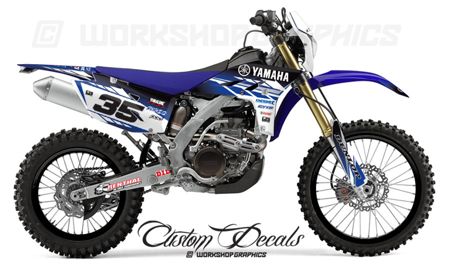 Yamaha WR450 MX Graphics