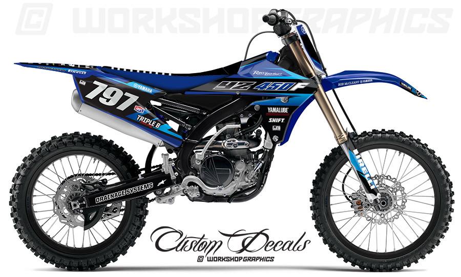Yamaha YZ250-450 MX Graphics