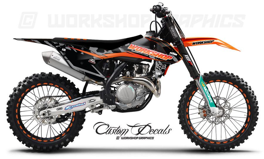 KTM 125-450 MX Graphics