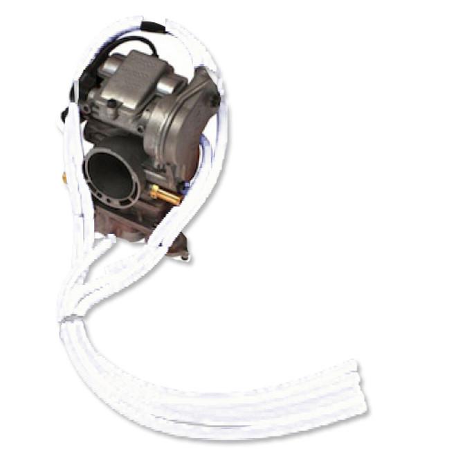 4T - Free Flow Carb Vent Kit White
