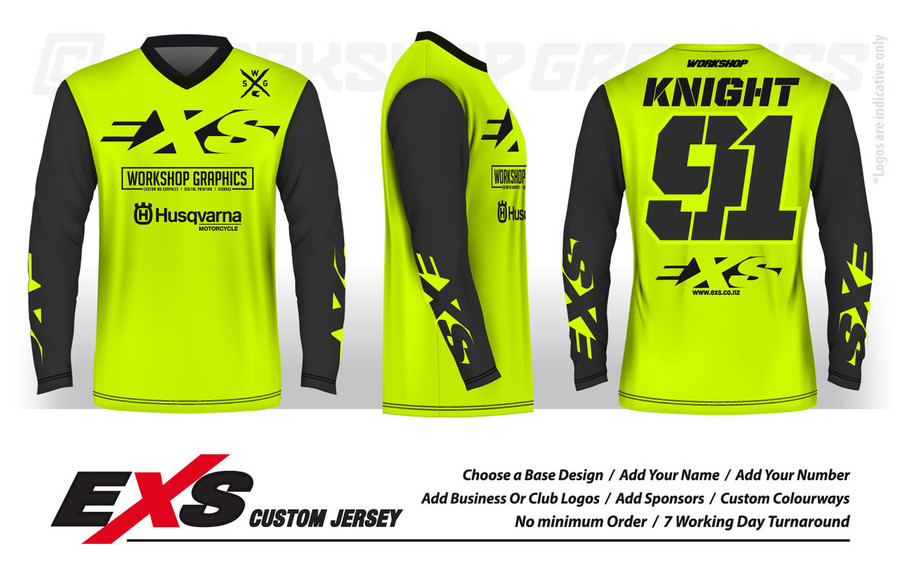 Elite Yellow - EXS Race Jersey