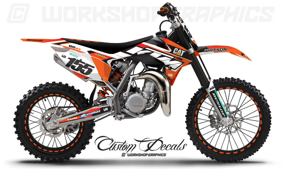 KTM 85 Graphics