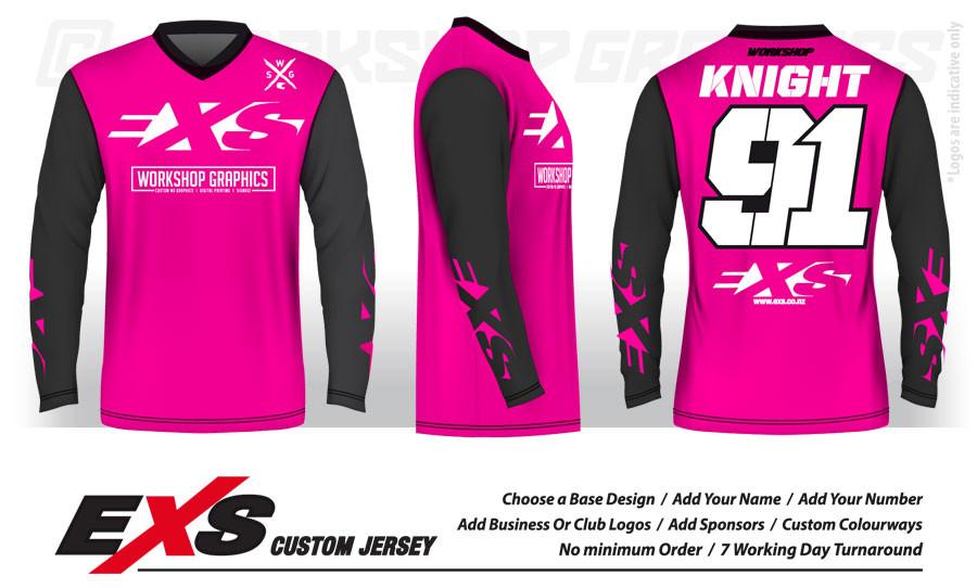 Custom Sublimated MX BMX Jerseys