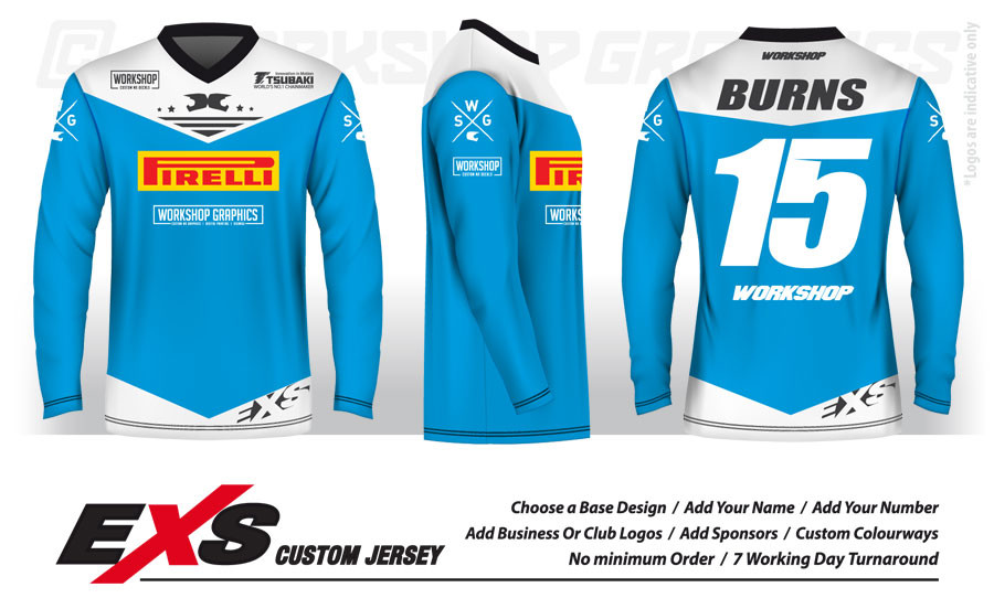 8e3f9bac596a Custom Design MX BMX   Downhill Jerseys