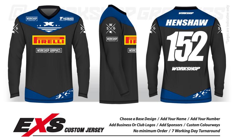 Status Blue - EXS Race Jersey