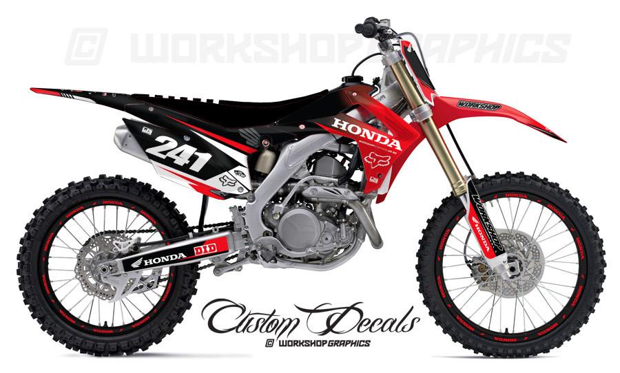 2015 Honda CRF Graphics