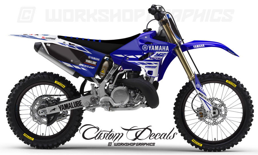 2015 16 YZ125 Holeshot White