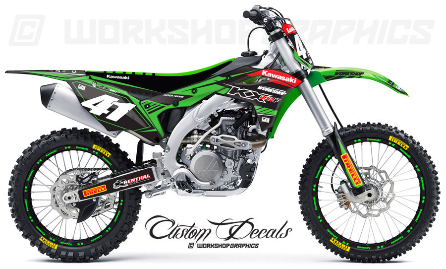 2017 KX250F Graphics Kit