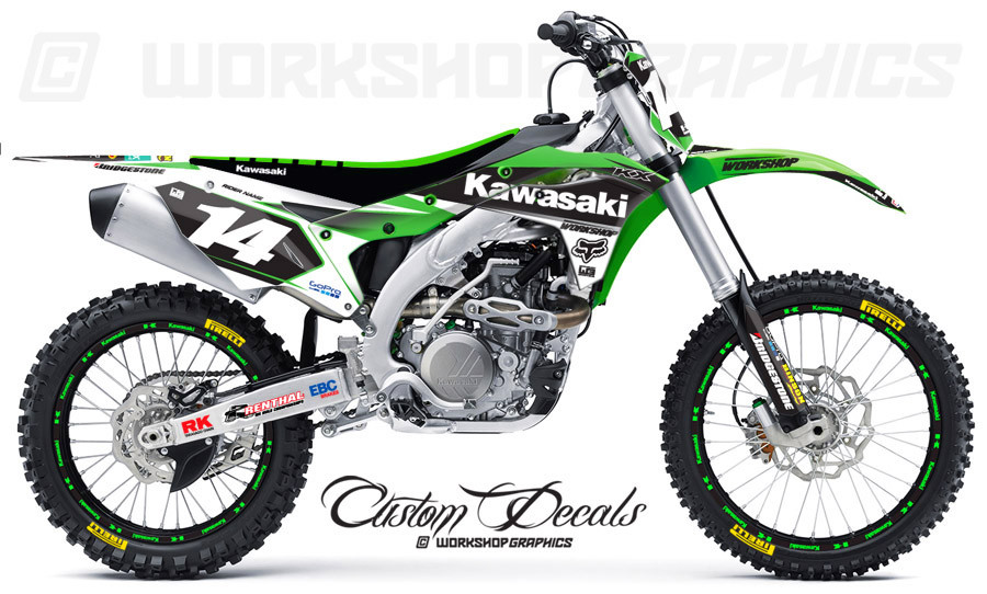 2017 KX250F Graphics Kit