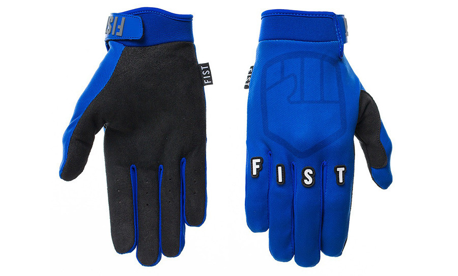 Fist Gloves Blue Stocker Yamaha