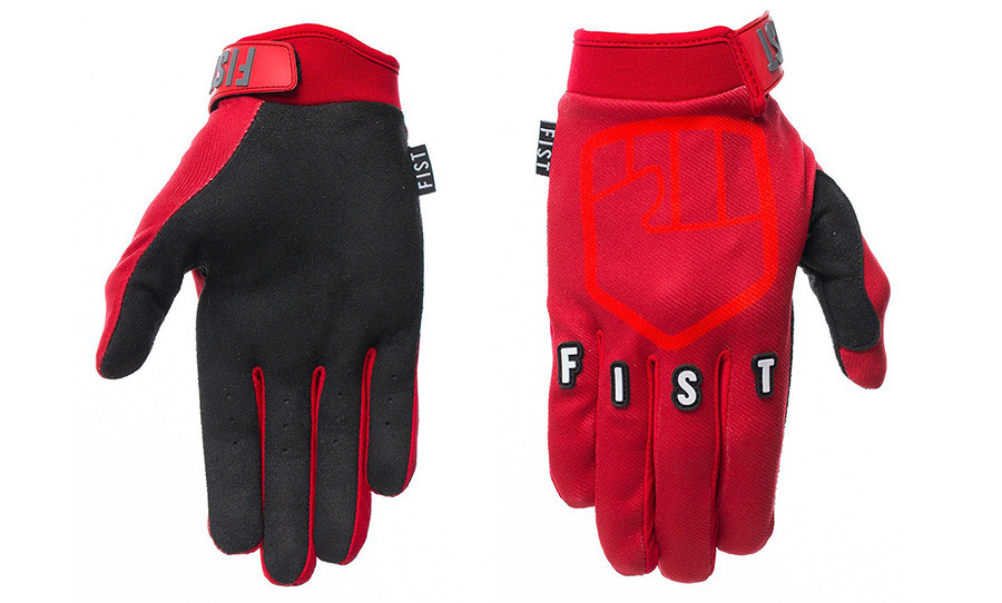 Fist Gloves Stocker Red Honda