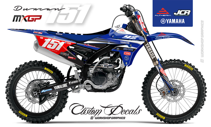 Courtney Duncan 151 GP - Graphics Kit