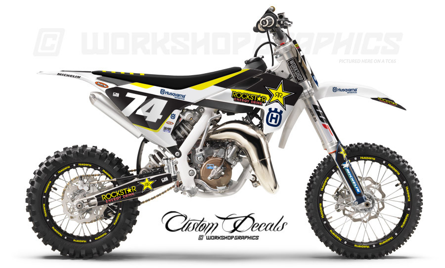 Husqvarna TC65 Graphics kit