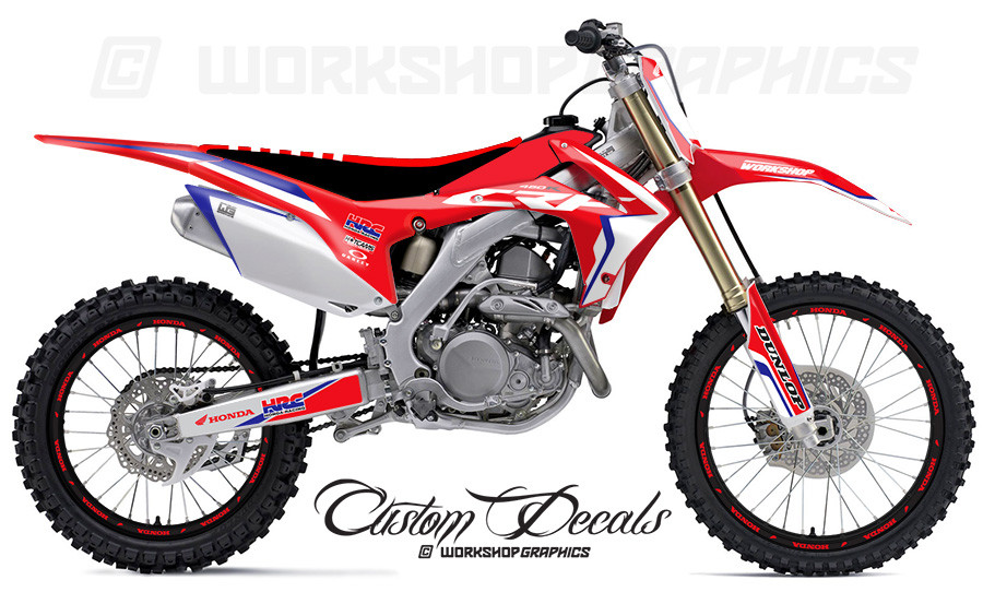 2017 CRF250R Graphics Kit