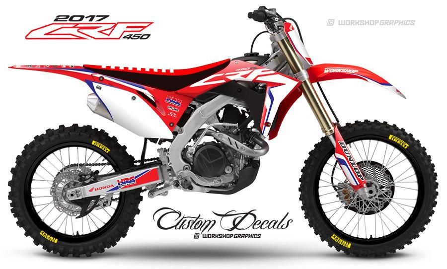 2017 CRF450  StockR - Graphics