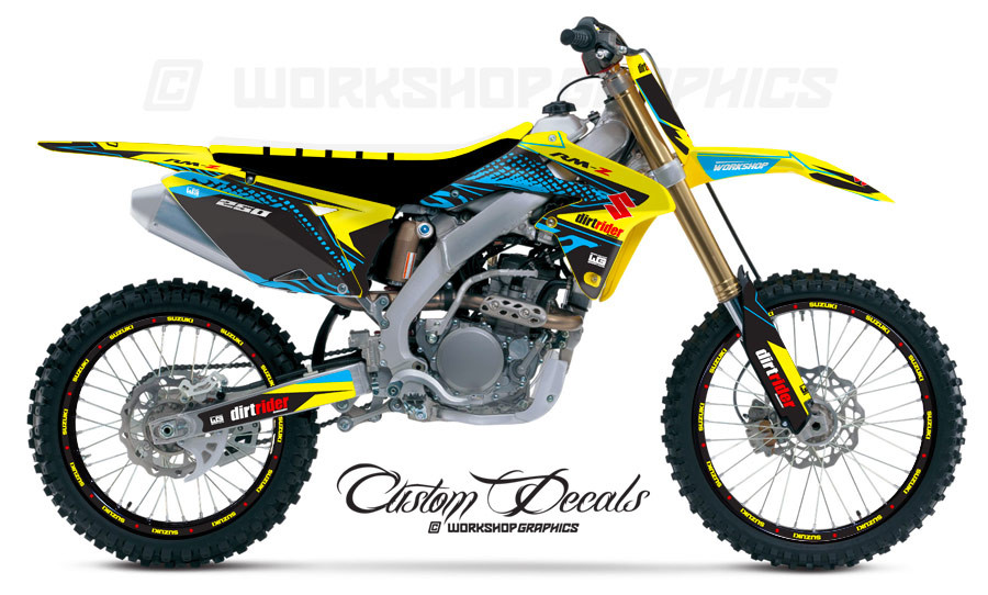 2015 RMZ Revzilla Graphics kit