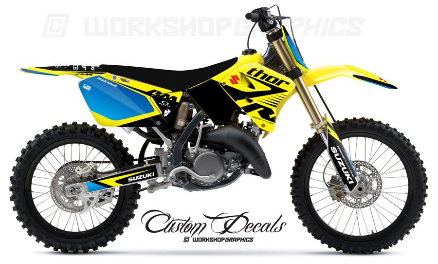 RM125-250 Butter MX Graphics