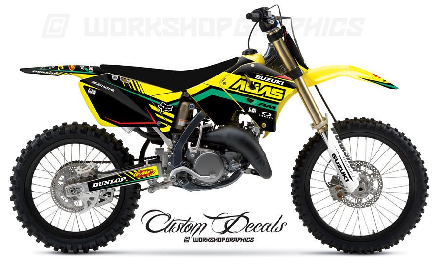 RM125-250 Retro MX Graphics