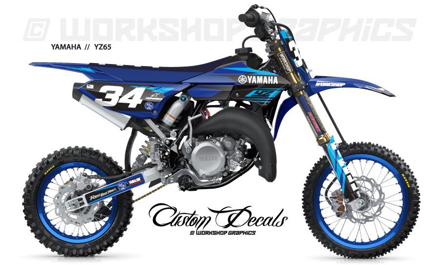 2018 YZ 65  MX Graphics kit