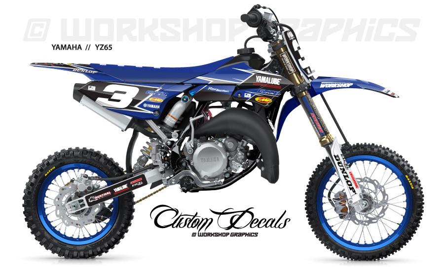 YZ65 Highside MX Graphics Kit