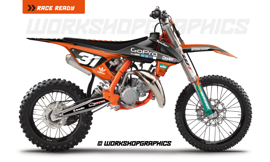 KTM 85 Sector - Graphics Kit