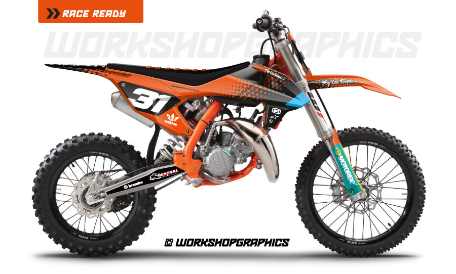 KTM 85 Starburst - Graphics Kit