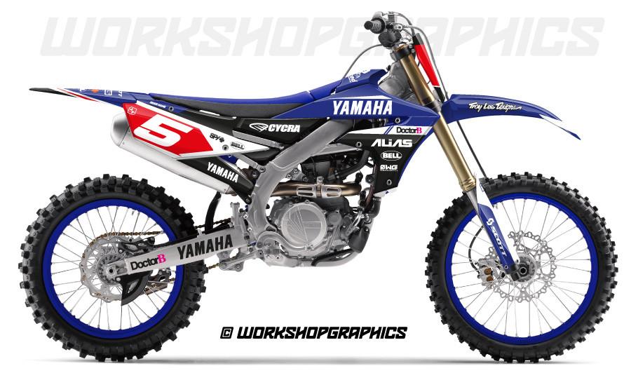 Yamaha YZ250 YZ450 MX Graphics kits