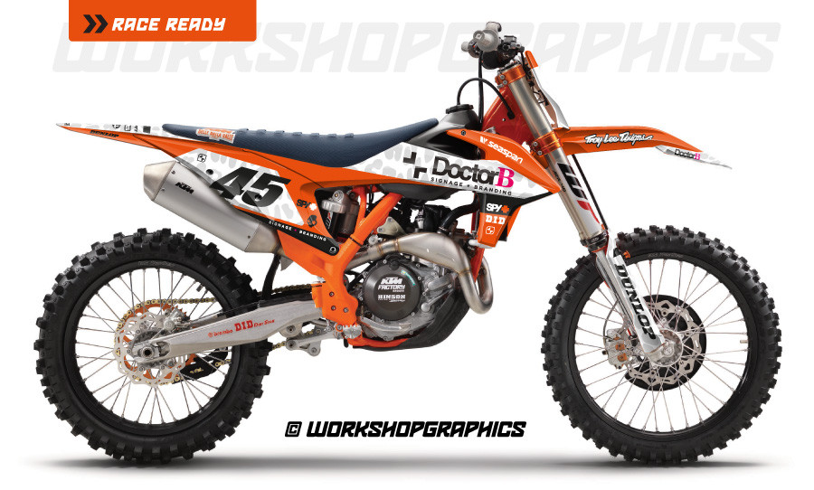 Doctor KTM - Graphics Kit