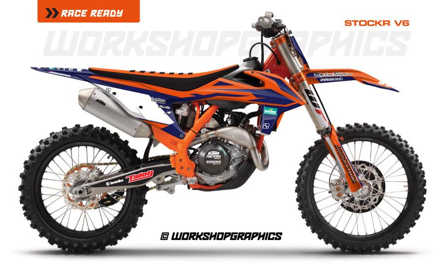 2019 Stock R V6 - Graphics Kit