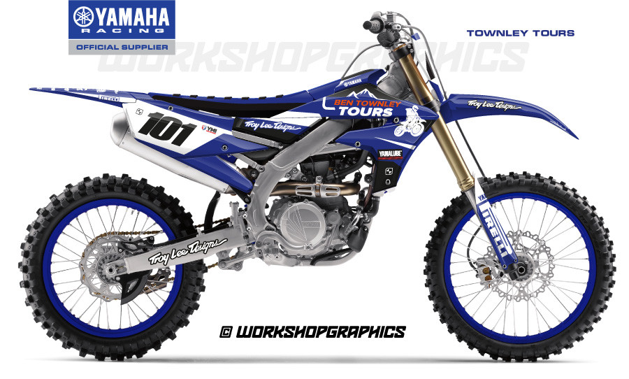 2019 YZF Townley Tours - Graphics Kit