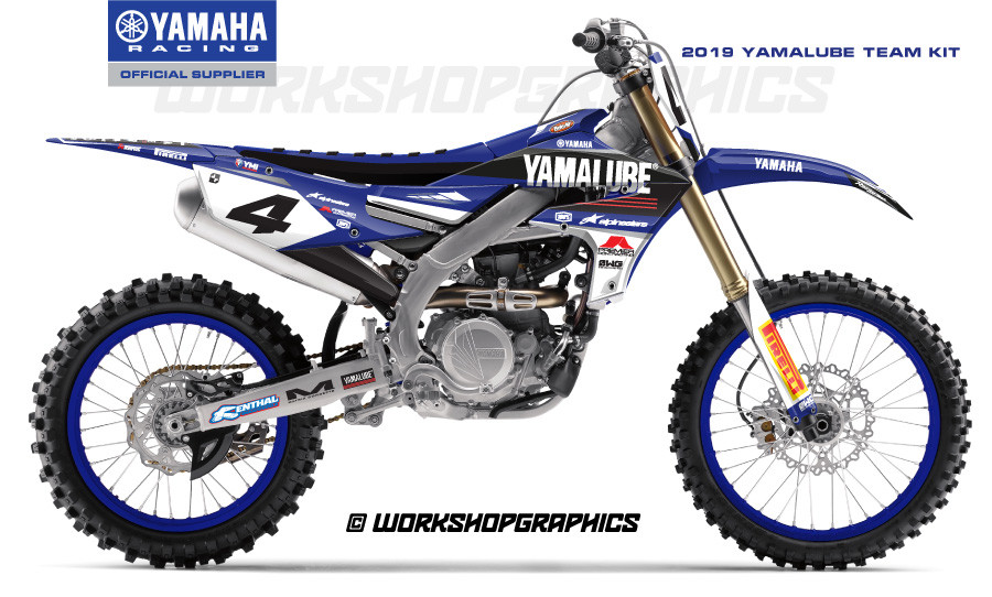 2019 YZF Yamalube - Graphics Kit