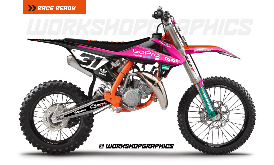 sx85 sector graphics kit
